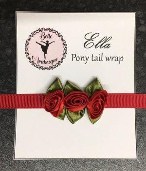 ELLA pony tail wrap