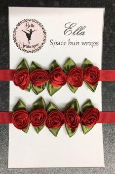 ELLA space bun wraps