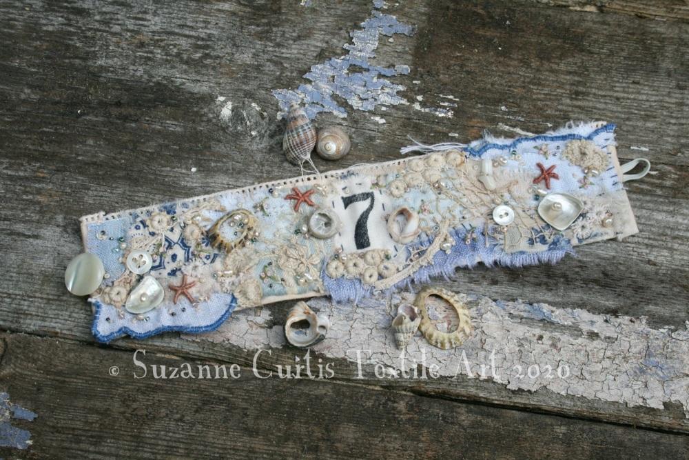 Textile Cuff Bracelet No7
