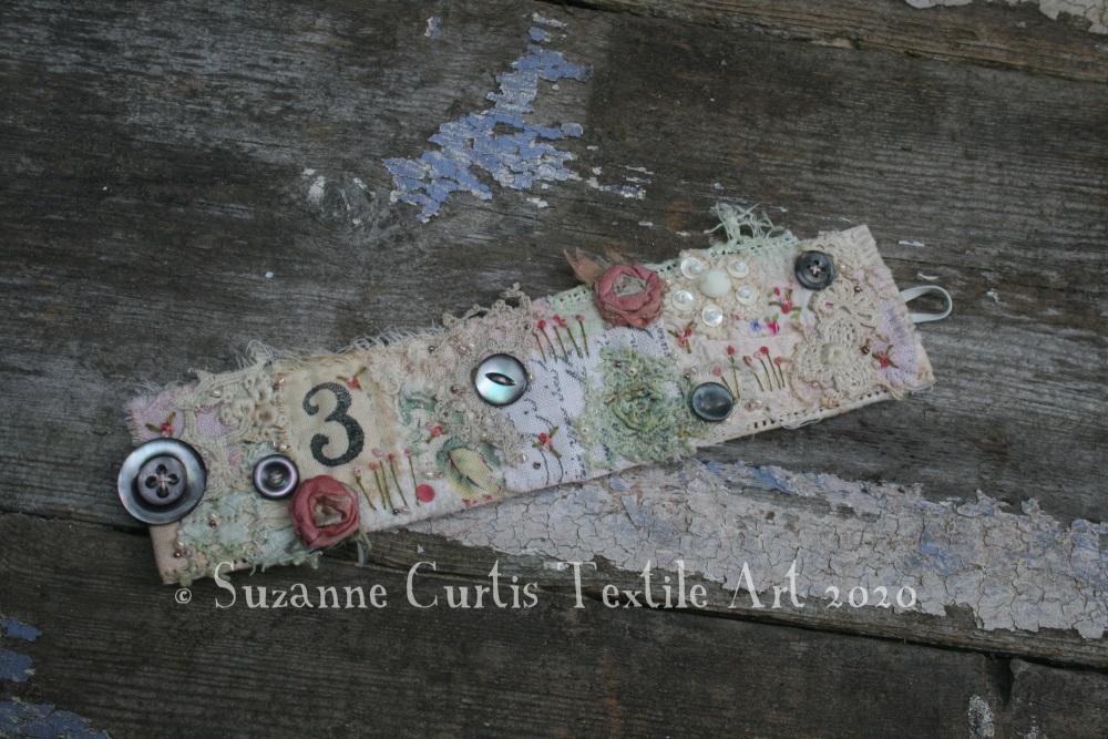 Textile Cuff Bracelet No3