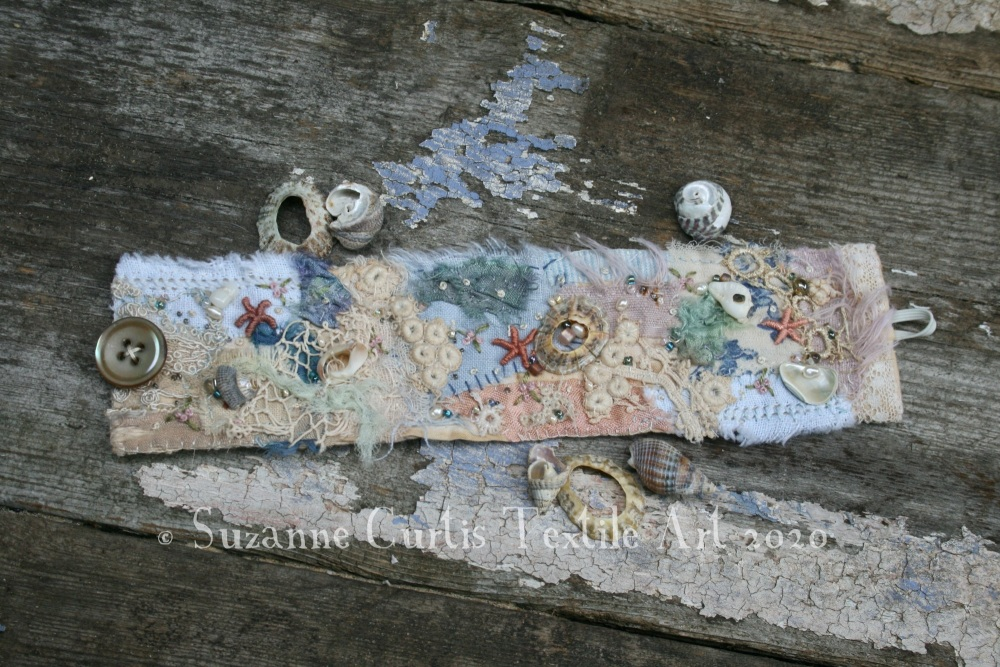 Textile Cuff Bracelet