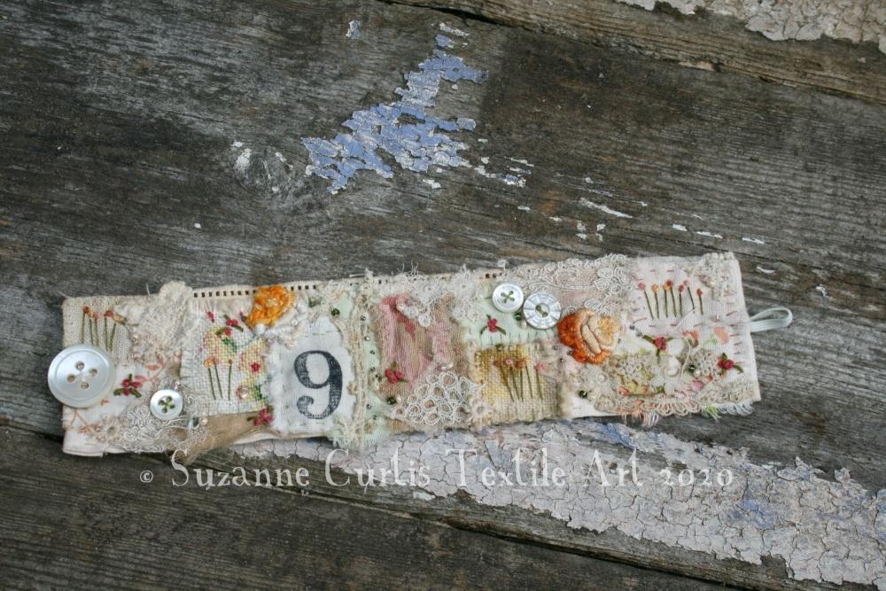 Textile Cuff Bracelet No 9
