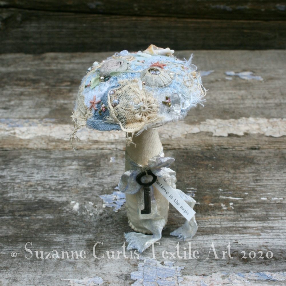 Small Embellished Toadstool 5