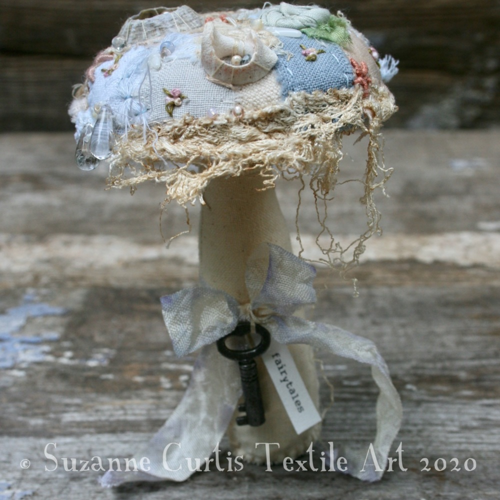 Small Embellished Toadstool 2