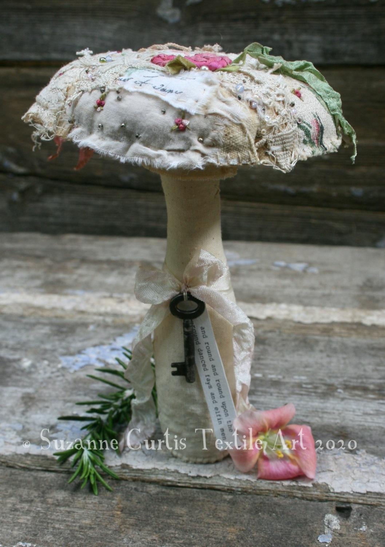 Large Embellished Toadstool