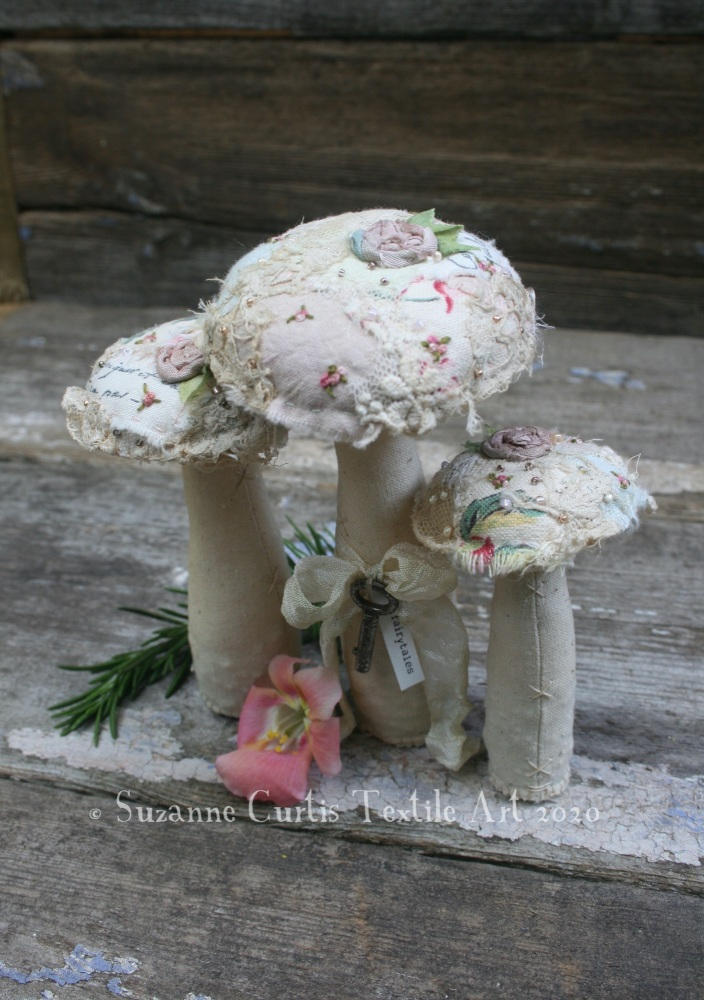 Embellished Toadstool Trio 3