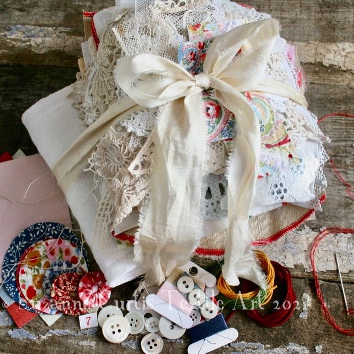 Slow Stitch Packs - DIY Sewing Packs
