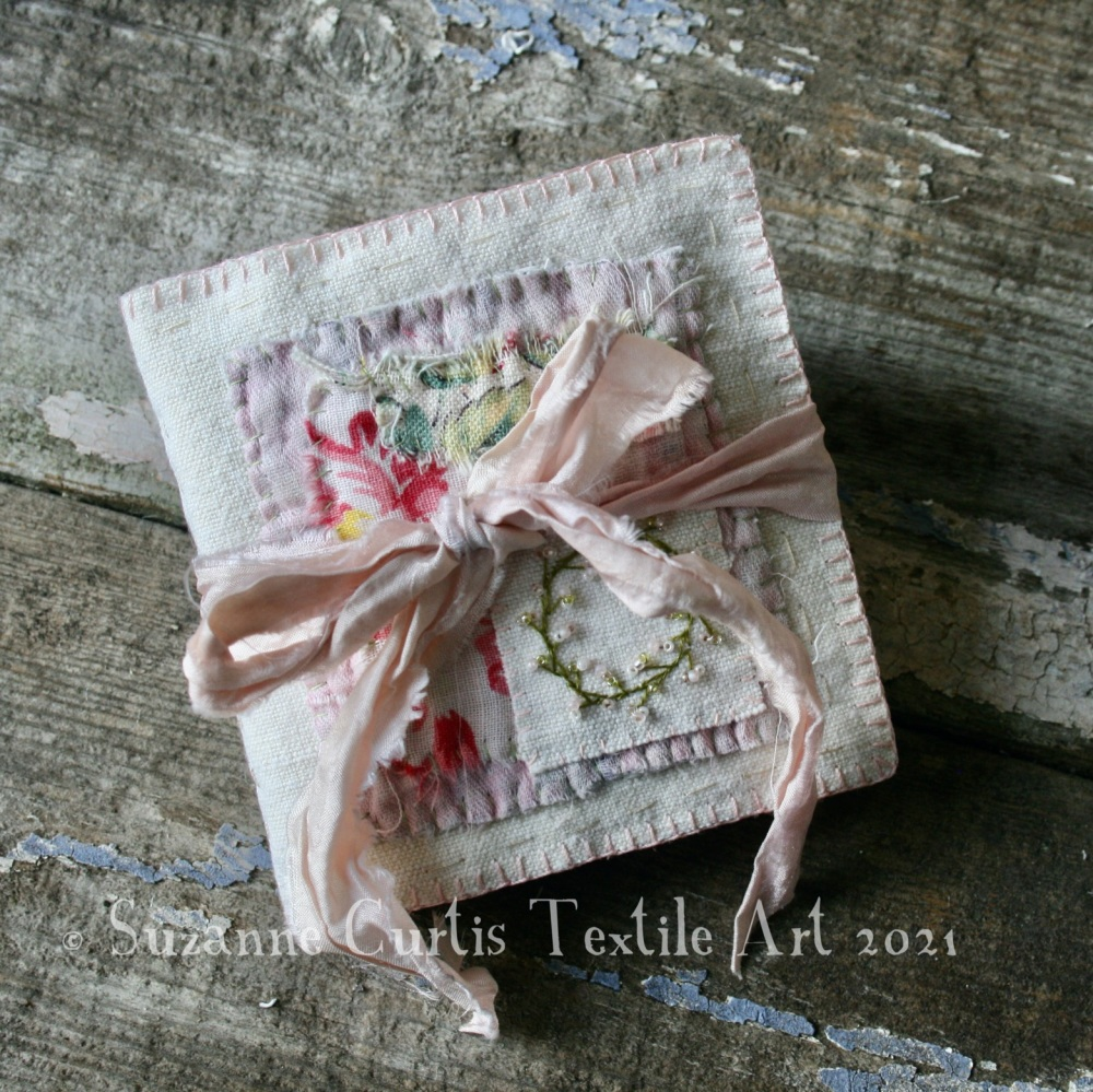 Textile Needle Book - Vintage and Beaded