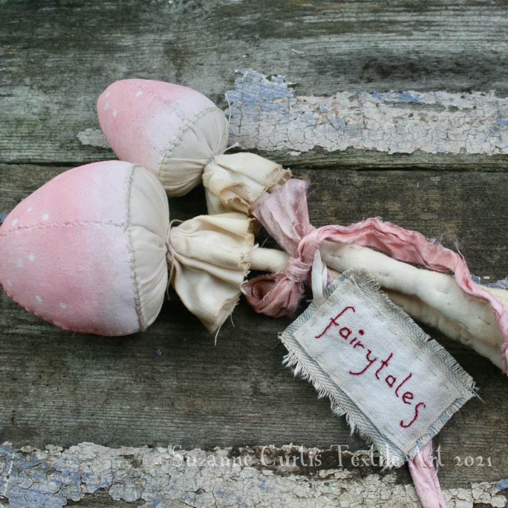 Spindly Toadstool Duo - Pink 13