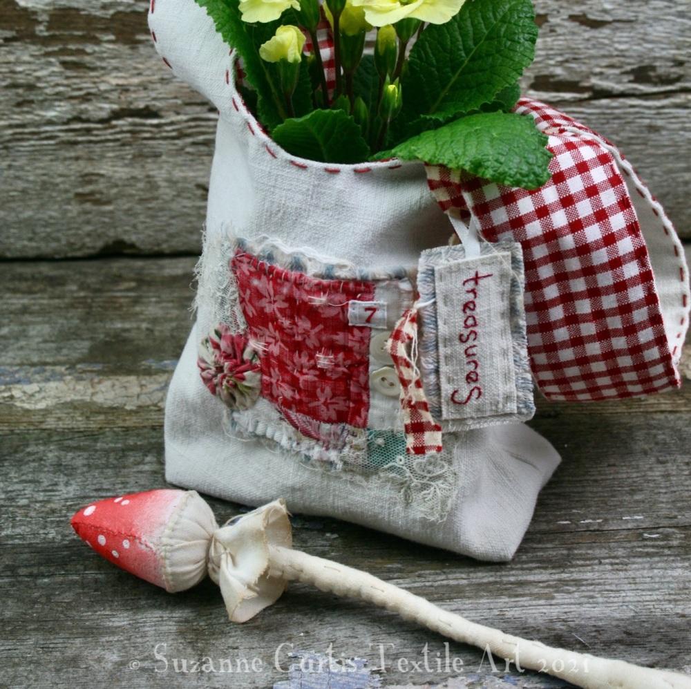 Vintage Textile Knot Bag