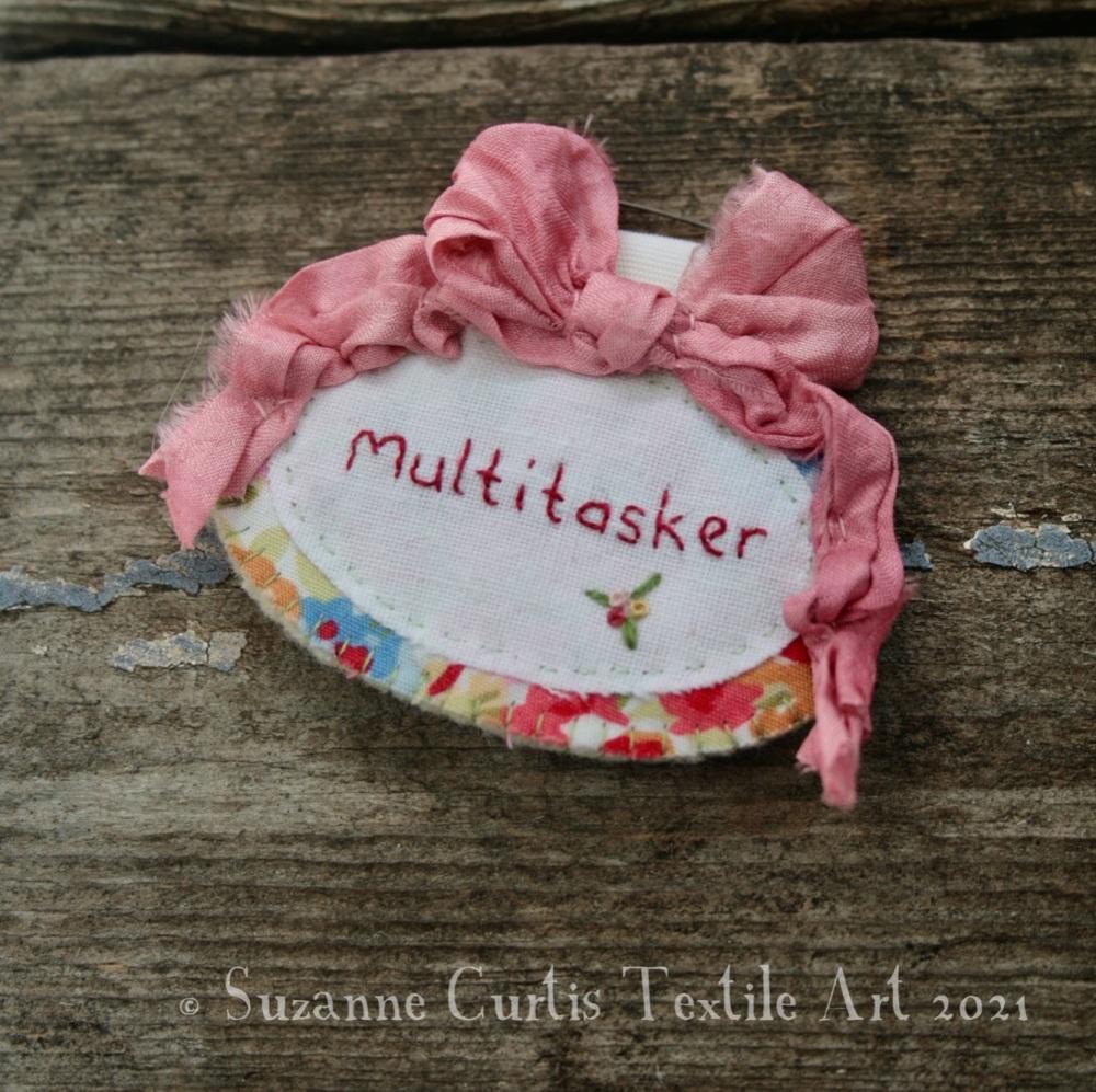 Multitasker Brooch