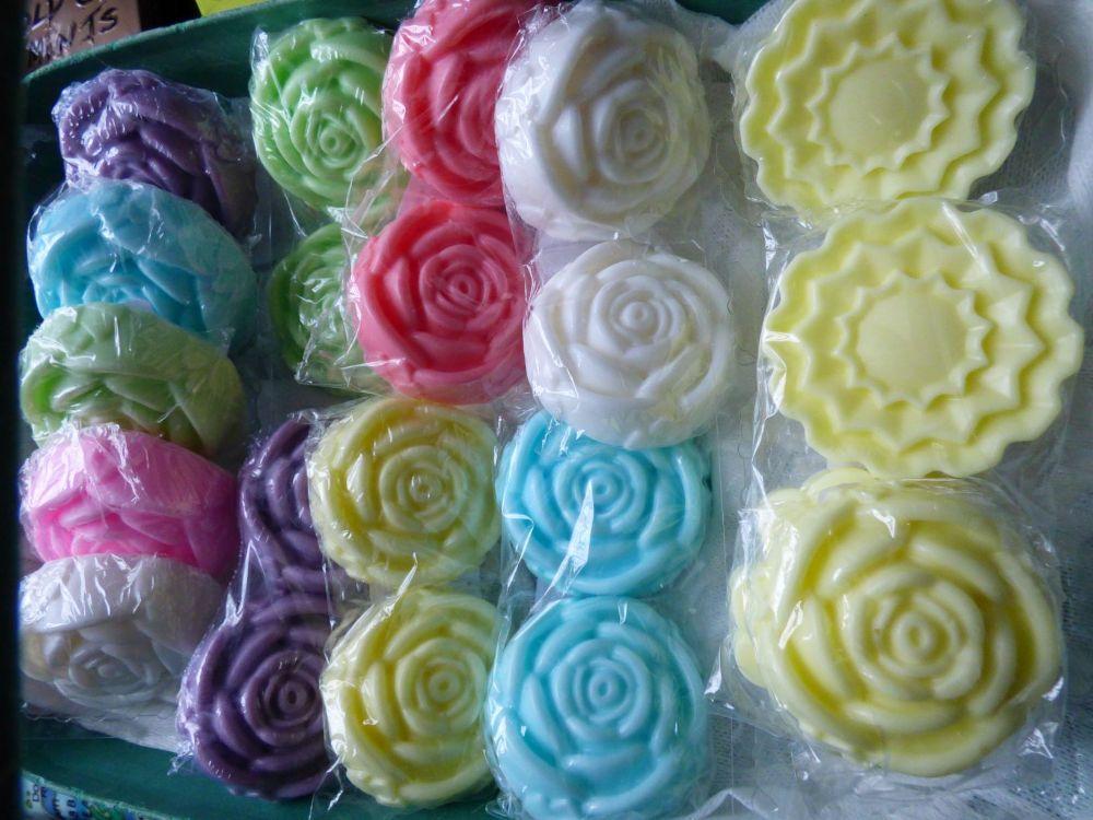 Flower  & Heart  Shaped soaps