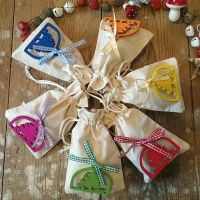 Mini Christmas Gift Bag - 6 colours