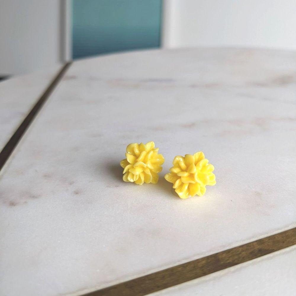Sunshine Flower Stud Earrings