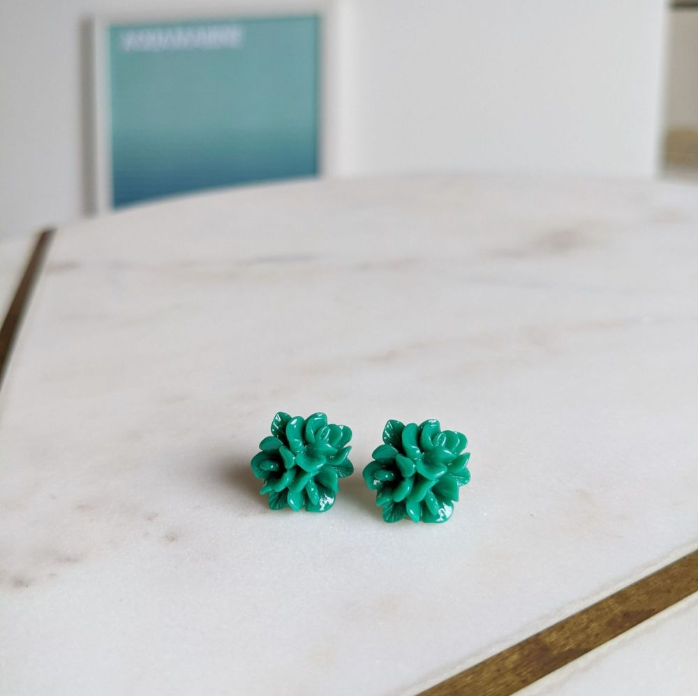 Forest Flower Stud Earrings