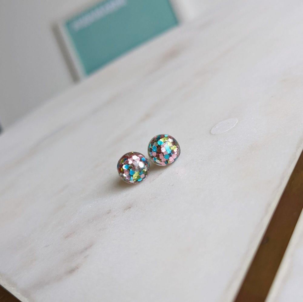 Glitterball Mini Sequin Earrings