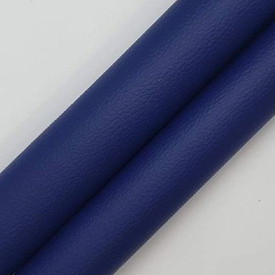 Navy Leatherette