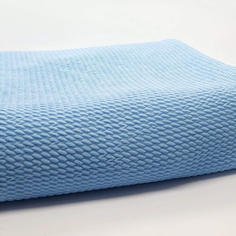 Baby Blue Bullet Fabric