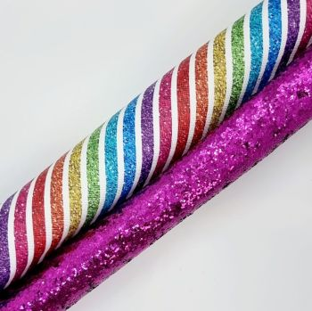 Stripes & Sparkles Double Sided