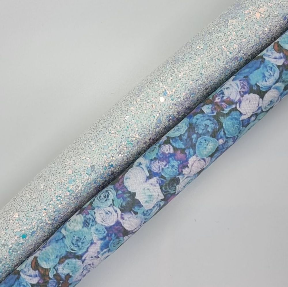 Blue Bloom Double Sided
