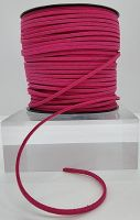 Shocking Pink Faux Leather Cord