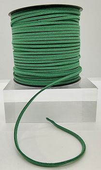 Green Faux Leather Cord
