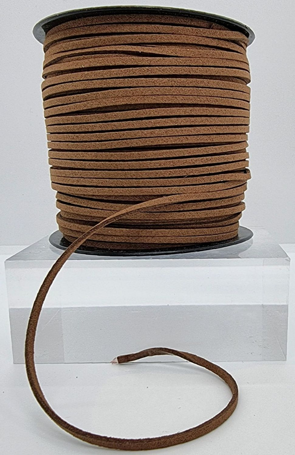 Brown Faux Leather Cord
