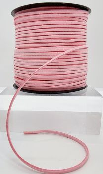 Pastel Pink Faux Leather Cord