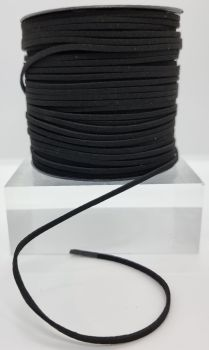 Black Faux Leather Cord