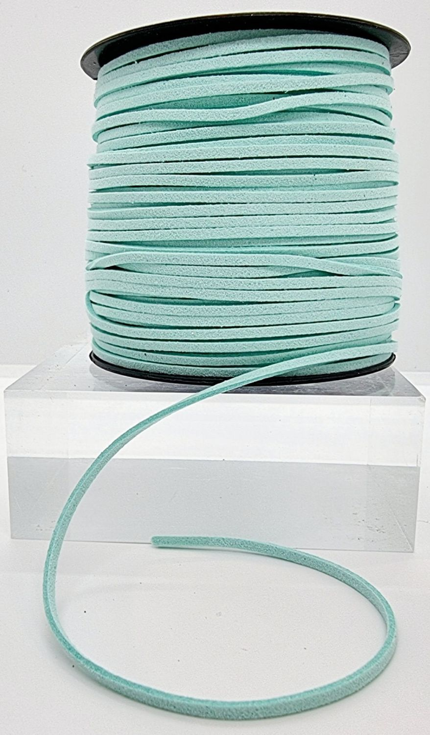 Mint Faux Leather Cord