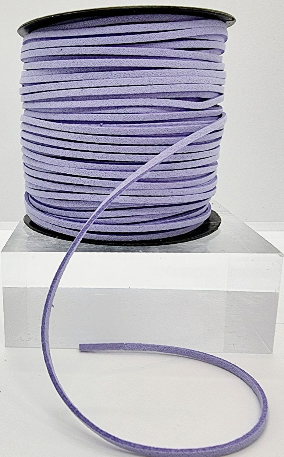 Lilac Faux Leather Cord