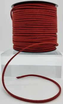 Rust Faux Leather Cord