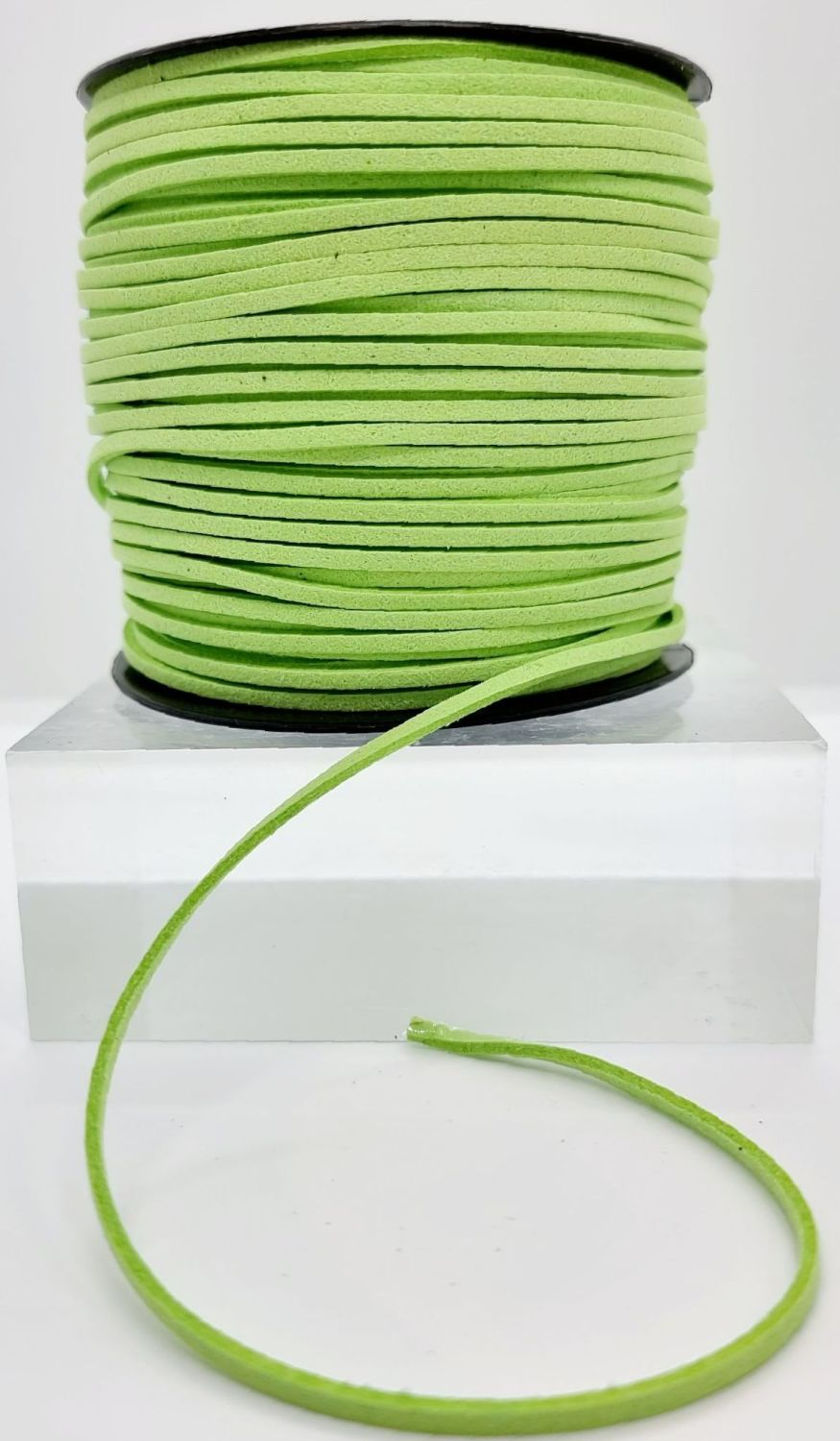 Apple Green Faux Leather Cord