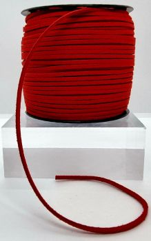 Red Faux Leather Cord