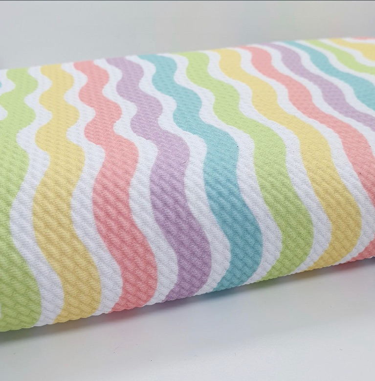 Candy Waves Bullet Fabric - SALE (52x38cm)