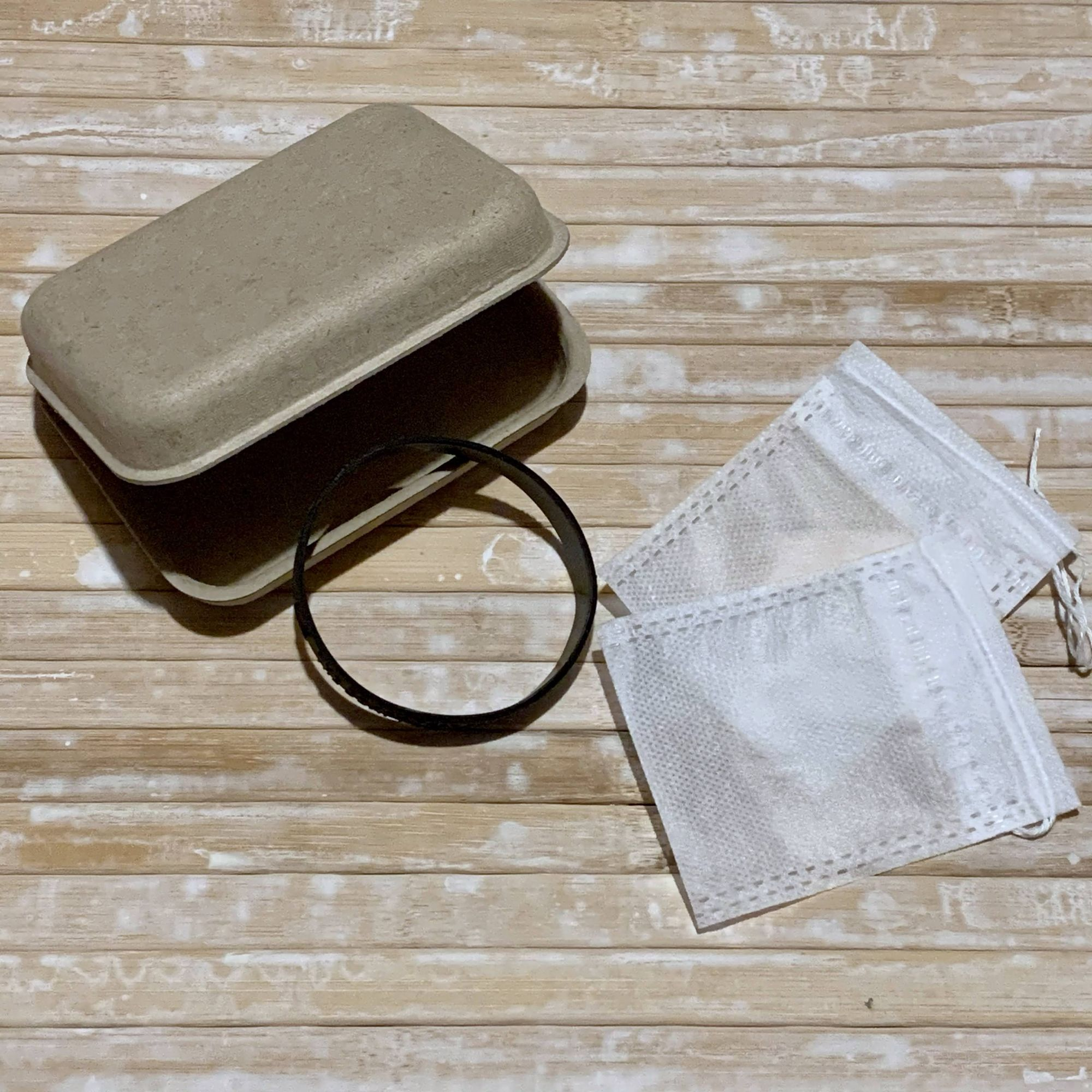 Kraft box and t-bag pouches