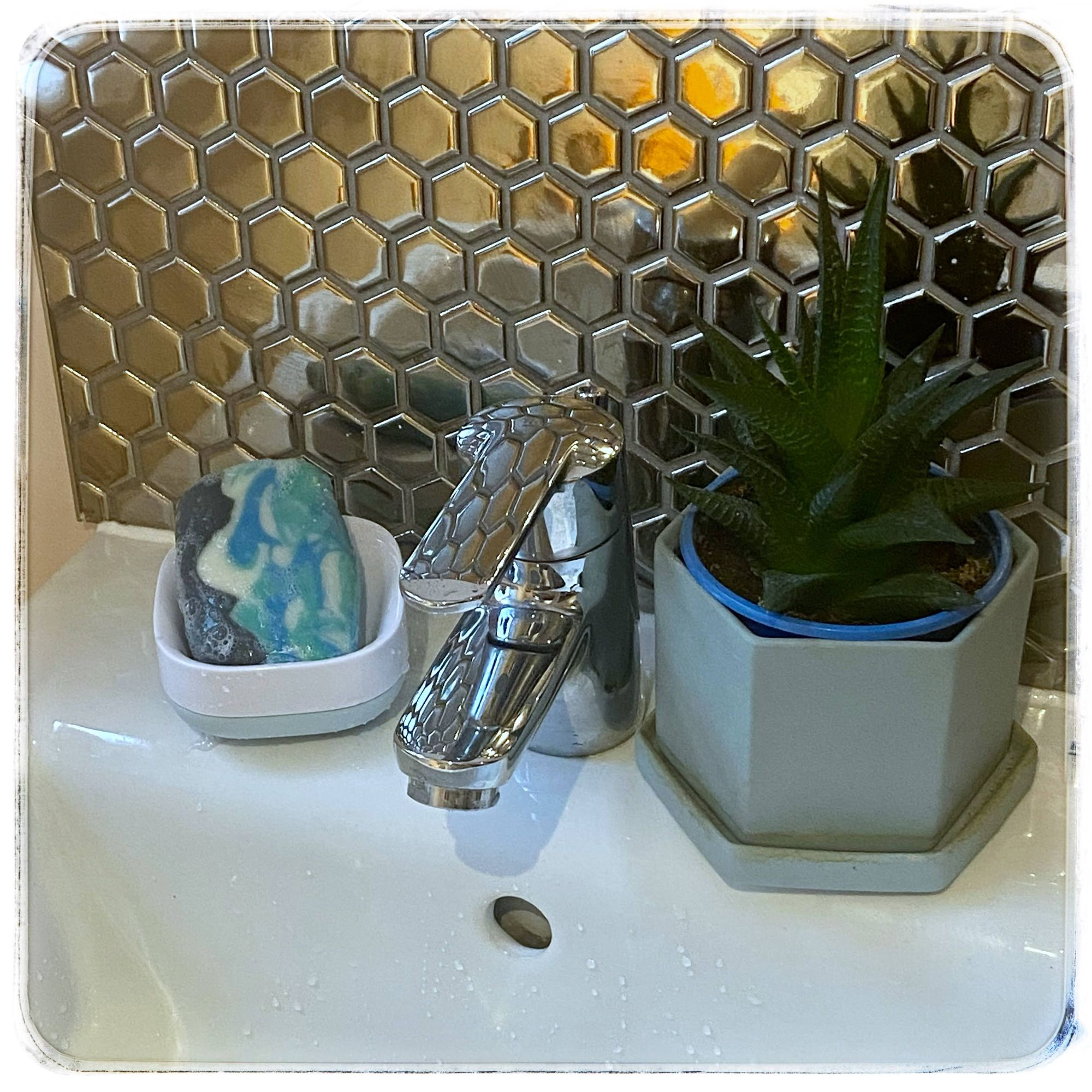 Sage & Sea Spray  in the bathroom