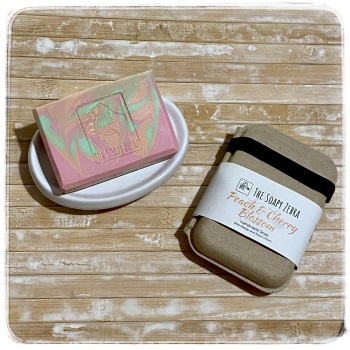 'Pink' Peach & Cherry Blossom Soap