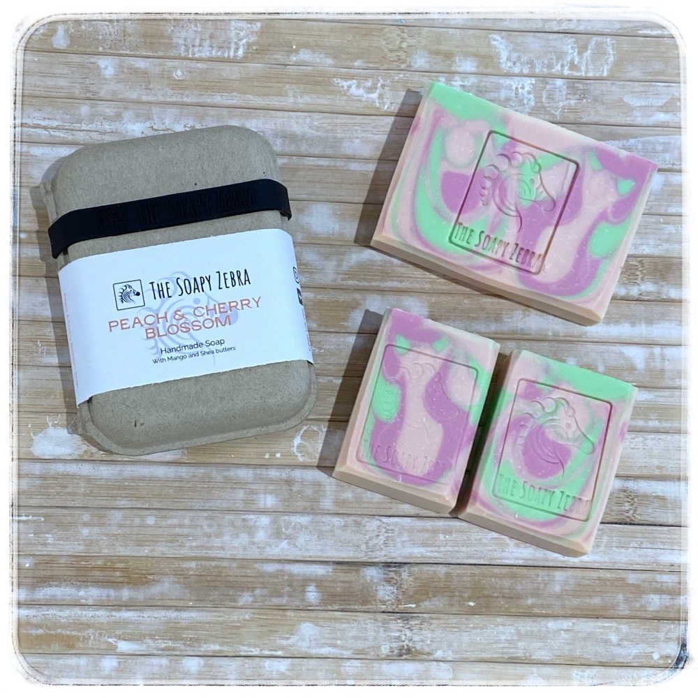 Peach & Cherry Blossom Soap