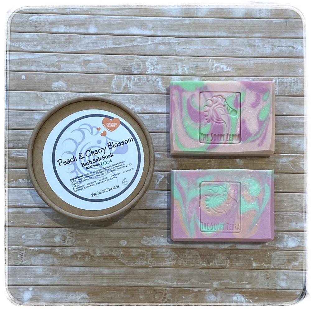 Peach & Cherry Blossom Gift set