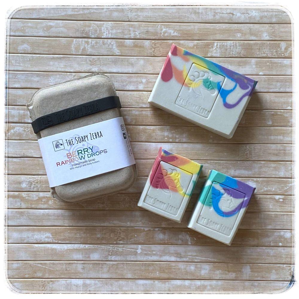 Berry Rainbow Drops Soap