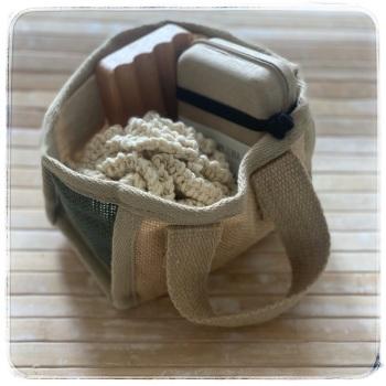Gift Basket Set (just add a soap) 3 piece