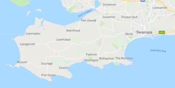 map W-Swansea
