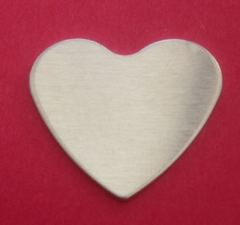 36mm Heart Stamping Blank