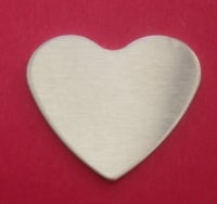 42mm Heart Stamping Blank