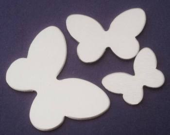 Large Butterfly Stamping Blank - 45mm by 30mm
