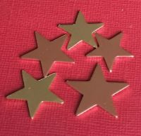 Copper Star Stamping Blank 20mm