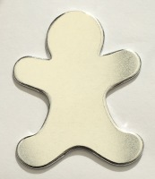 Ginger Bread Man Shaped Stamping Blank
