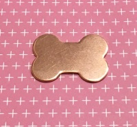 Copper Dog Bone Blank
