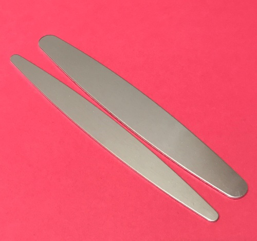 Aluminium Tapered Cuff Blank - 22mm by 150mm
